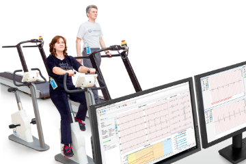 System for Cardiac Rehabilitation with ECG Control