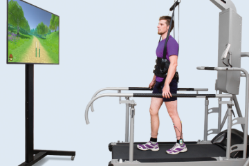 Gait Assessment and Training System with Biofeedback